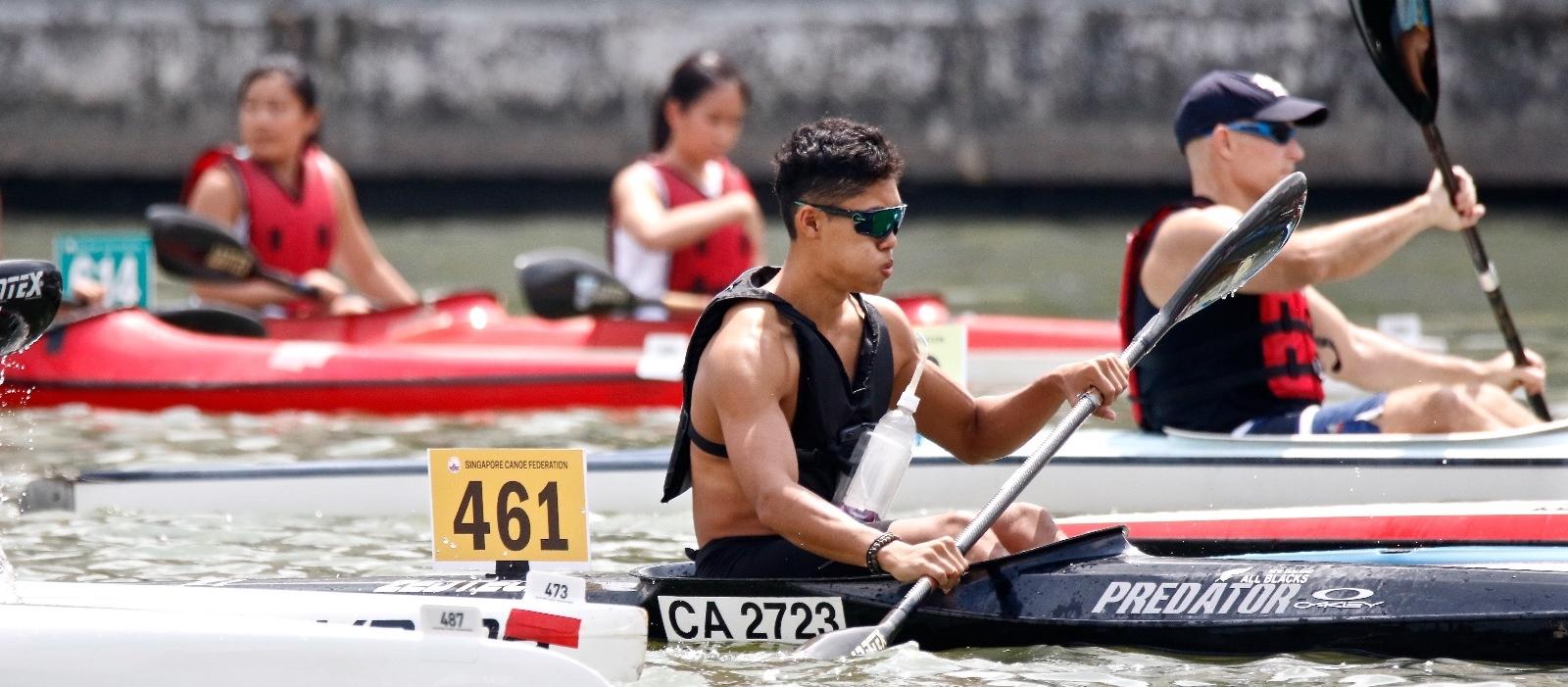 2019 Singapore Canoe Marathon