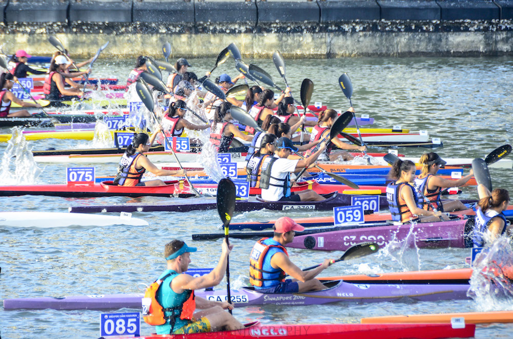 2020 Singapore Canoe Marathon