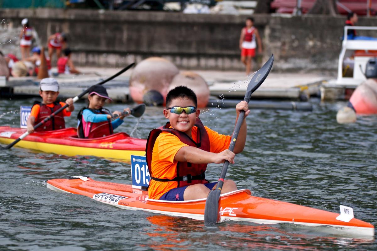 2020 Singapore Kids Kayaking Championships