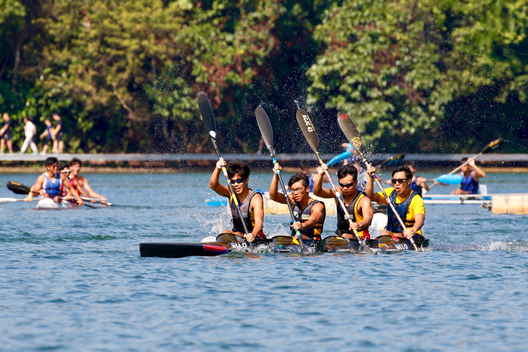 2019 December National Canoe Sprint Selections Time Trial