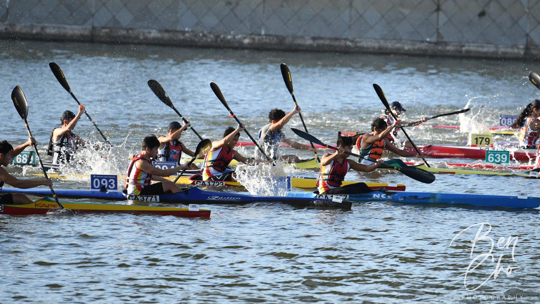 2021 Singapore Canoe Marathon