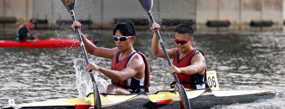 The Straits Times: 2018 Singapore Canoe Marathon a hit despite wet weather