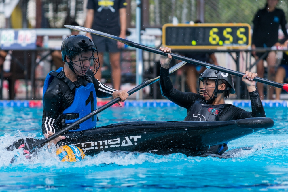 ActiveSG: Wild and wet as the National Canoe Polo Championship comes to a close
