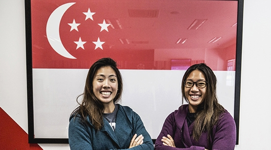 MCCY Lianhe Zaobao Feature – Stephenie & Sarah Chen