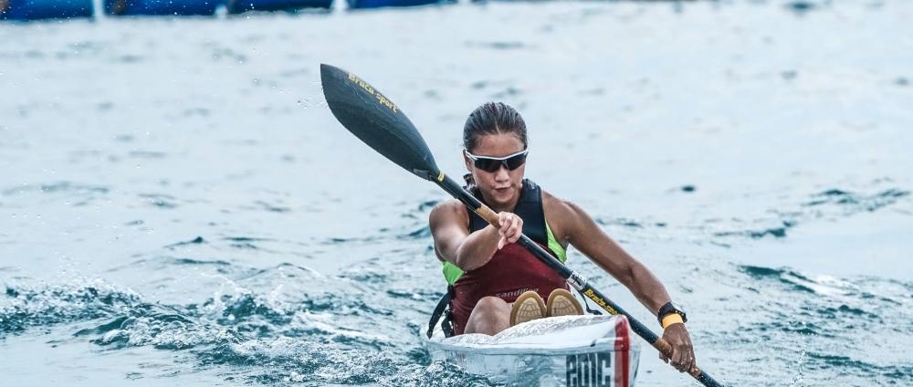 Canoe Ocean Paddling